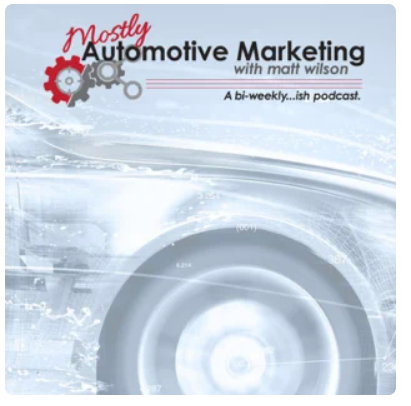 Mostly Automotive Marketing Logo